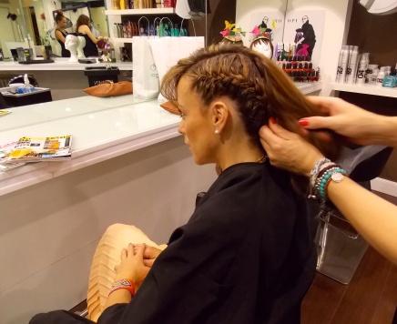 Peinado Cara Delevinge Gala de premios Met