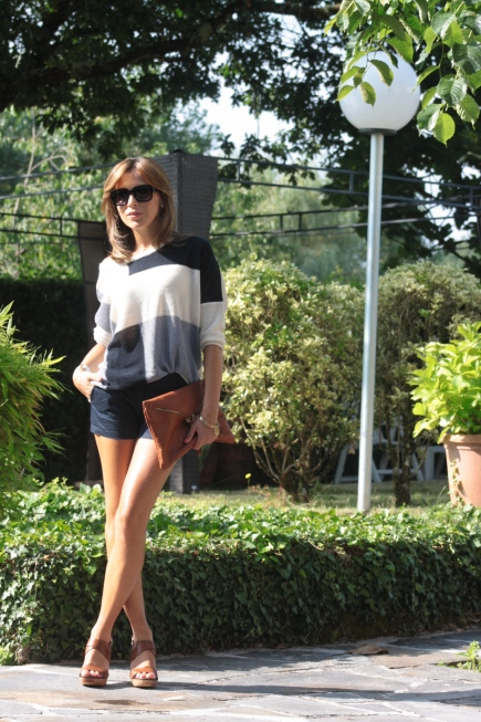 Total look con shorts