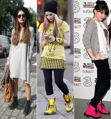 Celebrities con Dr Martens