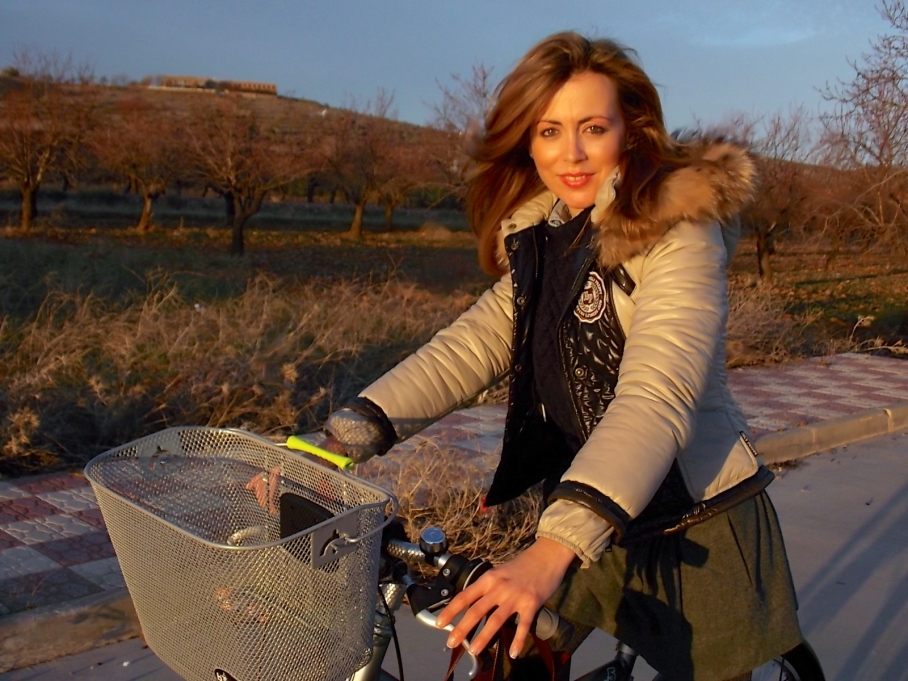 bloggers en bicicleta