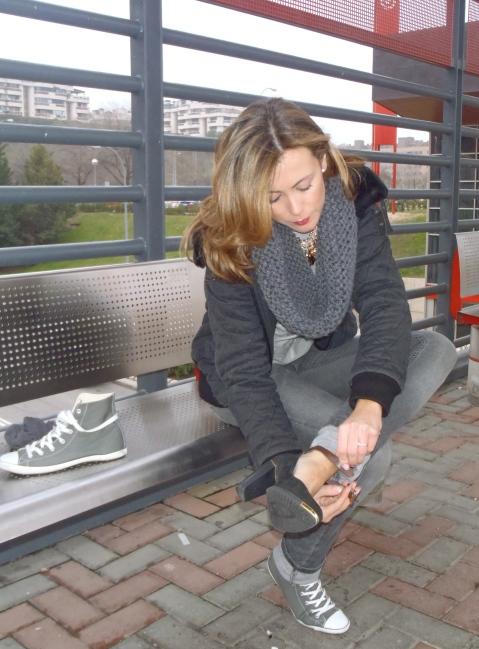 Zapatos de salón invierno 2014