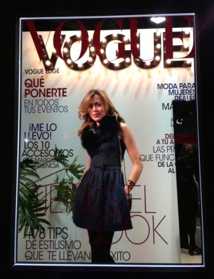 Portada Vogue mes de febrero