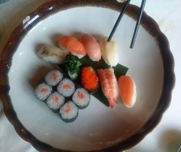 Sushi y color
